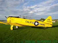 Harvard Texan flying