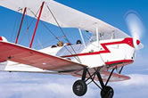 Stampe flying lesson