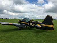 Aerobatic trial lesson picture