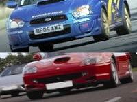 Ferrari and Subaru Driving - Intro