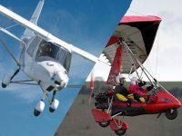 Microlight Flying Lesson (3-axis or flex)