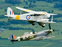 Fly Wing To Wing With A Spitfire - Air Commodore