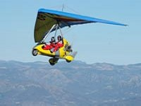 Fly a microlight at the home of the World Champion