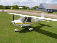 1 Hour flight in a 3 axis Microlight