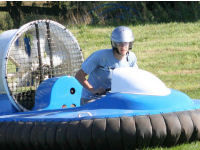 Extended Hovercraft racing Session