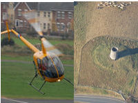 Combination flight - Helicopter and Light Aircraft