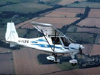 Microlight trial lesson