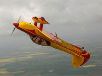 40 minutes in a fully aerobatic aeroplane