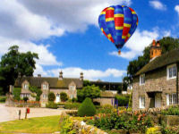 Hot Air Ballooning Experience from Tissington Hall in Derbyshire