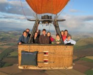 Hot Air Ballooning Experience from Kinross in Perthshire