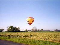 Hot Air Ballooning Experience from Eye,Cornwalis Country Hotel in Suffolk