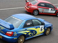 Silver Rally  -  Impreza Sti and Evo 8 *SPECIAL *