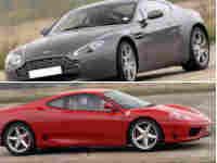 Ferrari v Aston Martin Experience plus Hot Lap