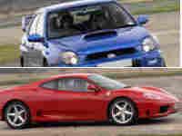 Ferrari v Subaru Impreza Experience