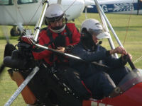 20 minute taster microlight lesson