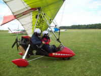 Microlight trial lesson picture