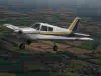 30 minute trial lesson in a  Piper Warrior