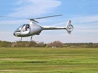 Helicopter trial lesson in a Cabri
