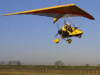 15 minute microlight taster session