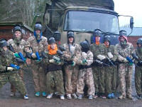 Paintballing Experience from Kentchurch A in Herefordshire