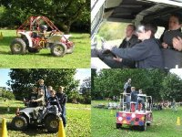 Quads; Karts; 4x4 and Dizzymobile for 6 children