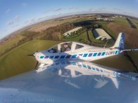 30 minutes in a two-seater aircraft