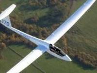 TWO flights in a glider - Aerotows to 2000ft