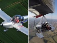 60 minute microlight lesson (flexwing or 3-axis)